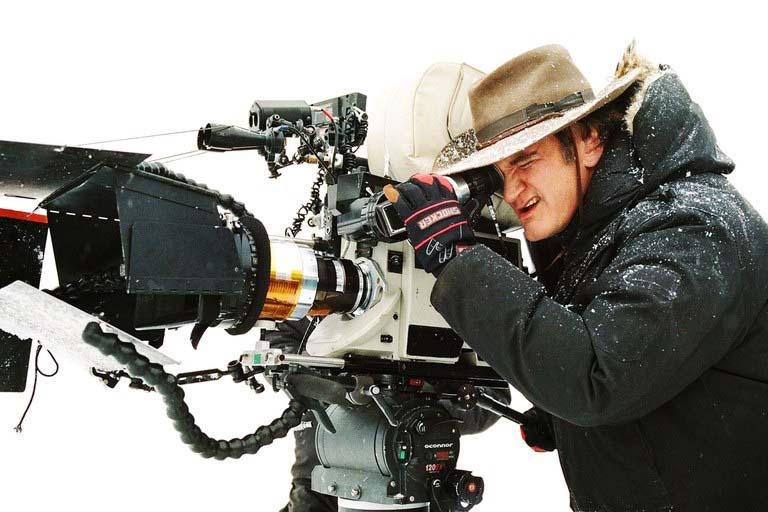 Quentin Tarantino being Quentin Tarantino
