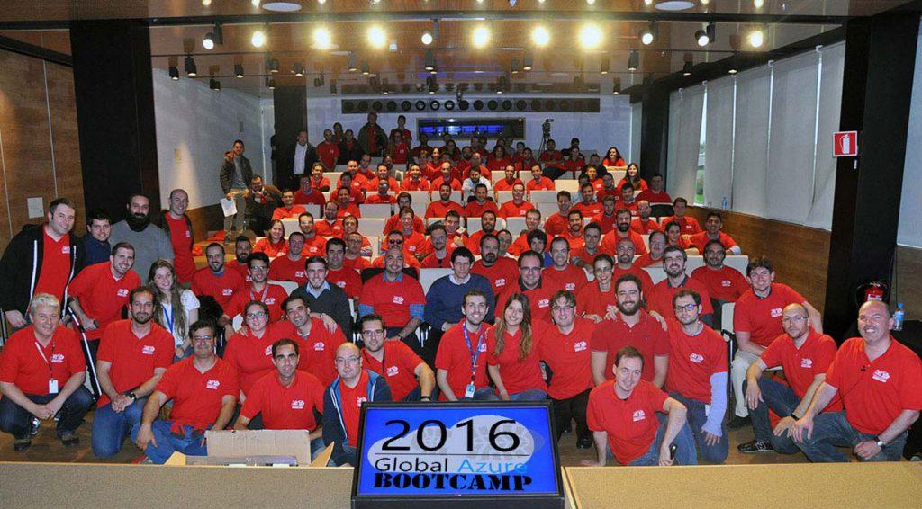 Fotografía de la edición 2016 del Global Azure Bootcamp
