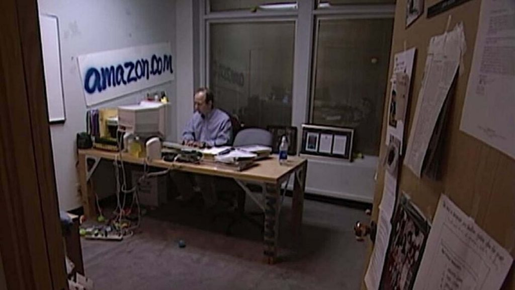 Antigua oficina de Amazon en 1997