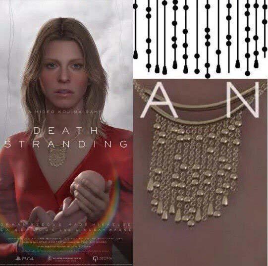 Collar de Lindsay Wagner en Death Stranding