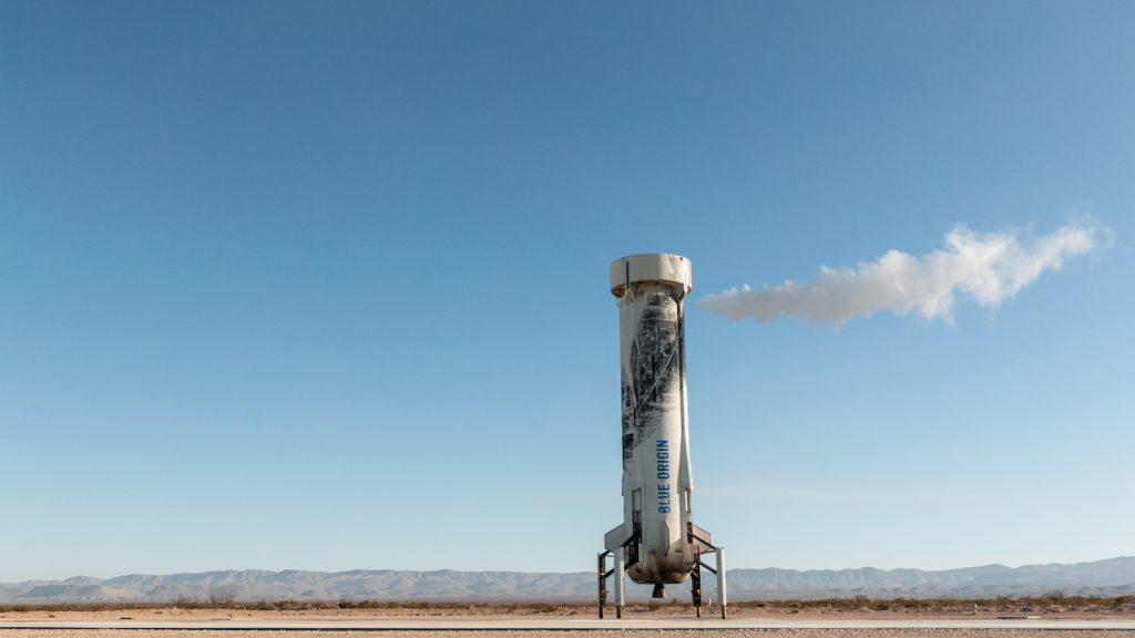 Cohete de Blue Origin