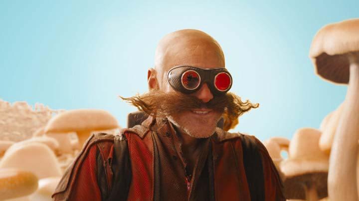 Jim Carrey en el papel de Dr. Eggman