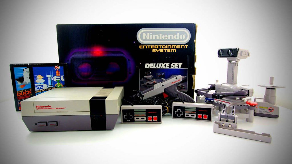 Set de Nintendo Entertainment System
