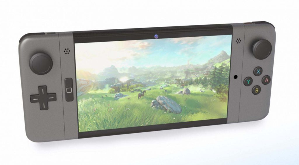 Concept art de Nintendo Switch