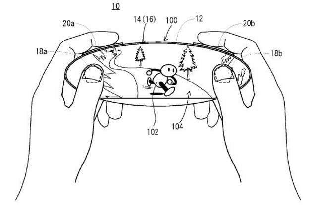 Patente de Nintendo NX
