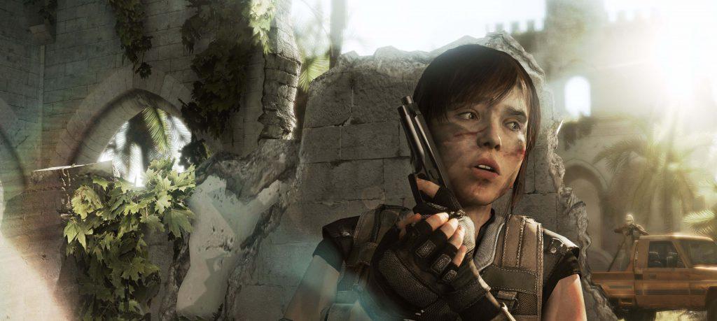 Ellen Page en Beyond: Dos Almas