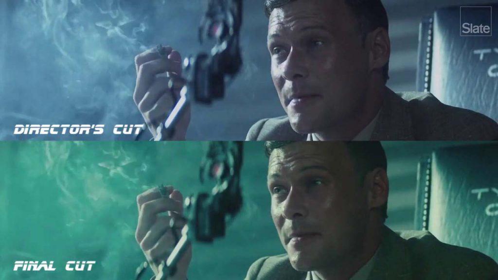 Comparativa versiones Director's Cut y Final Cut de Blade Runner