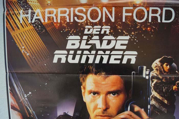 Poster original de Blade Runner