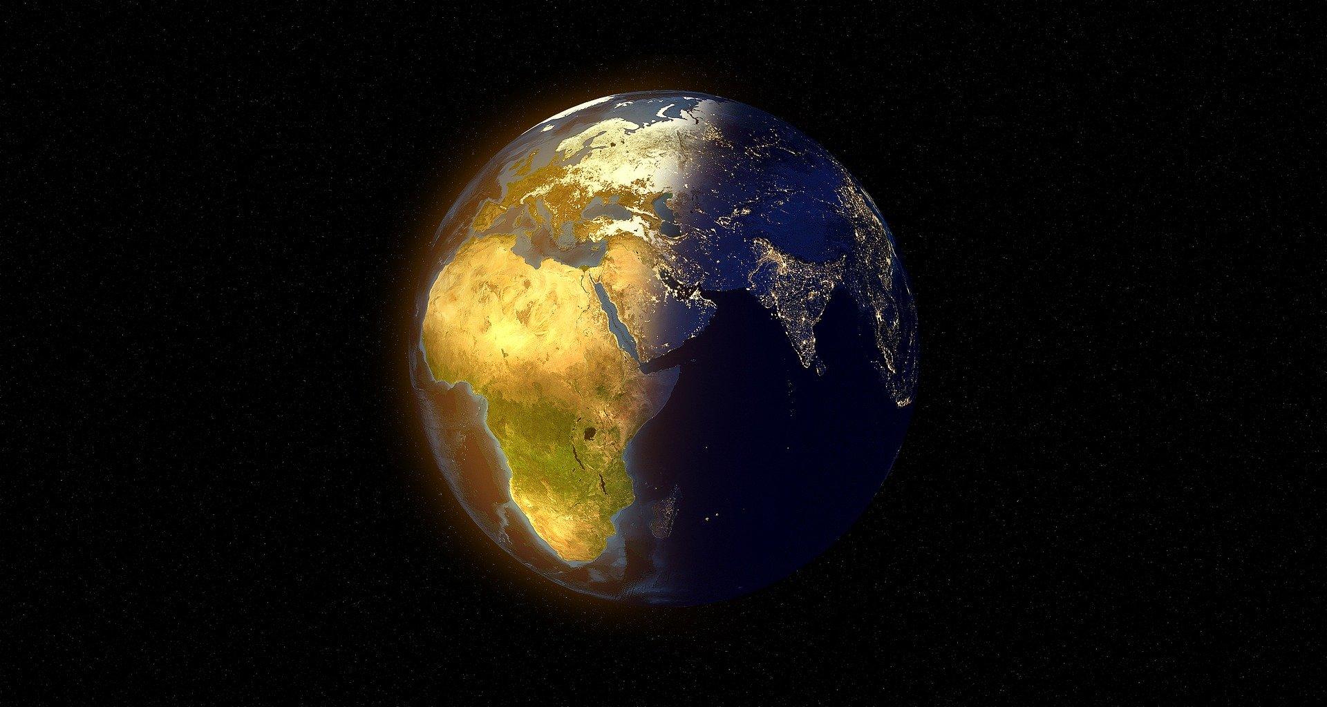 Tierra de noche