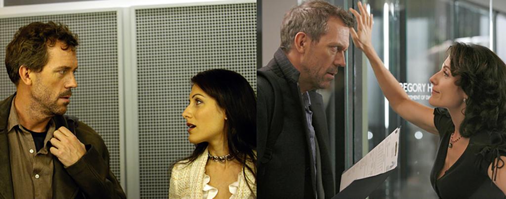 Comparativa visual del piloto de Dr. House con el resto de la serie