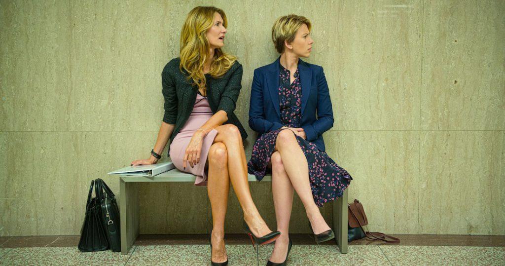 Laura Dern y Scarlett Johansson en 'Historias de un matrimonio0