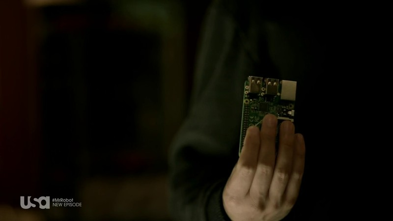 Raspberry Pi en Mr. Robot