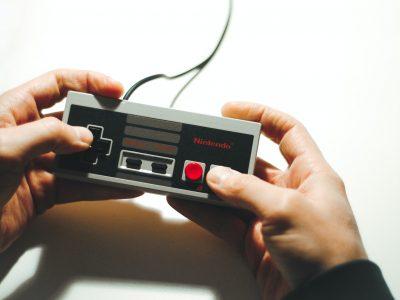 Mando de NES