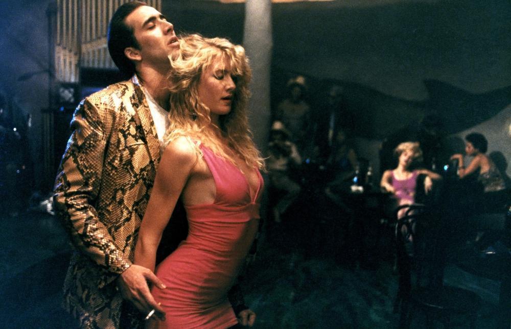 Nicolas Cage y Laura Dern en 'Corazon Salvaje'