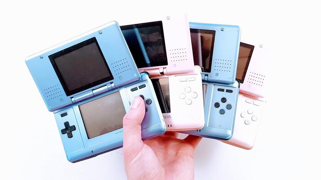 Colección de consolas Nintendo DS