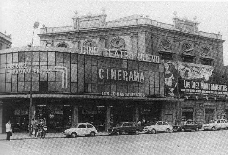 Teatro Cinerama, Barcelona, 1922-1986