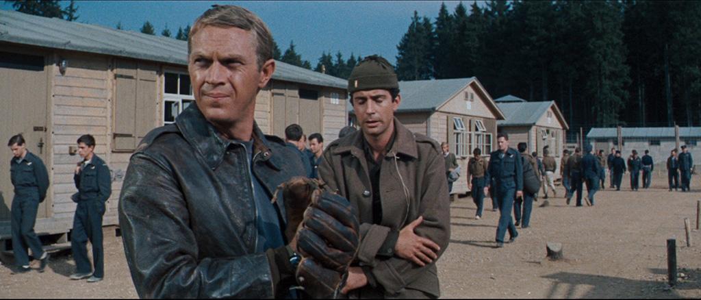 Steve McQueen en 'La gran evasión'