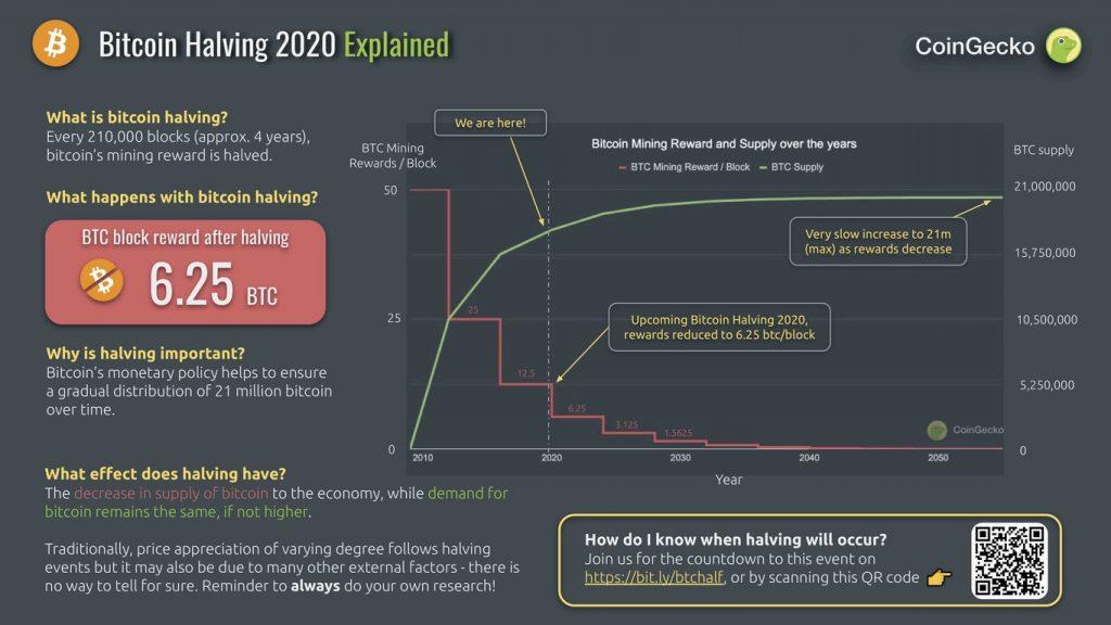 Explicación del halving