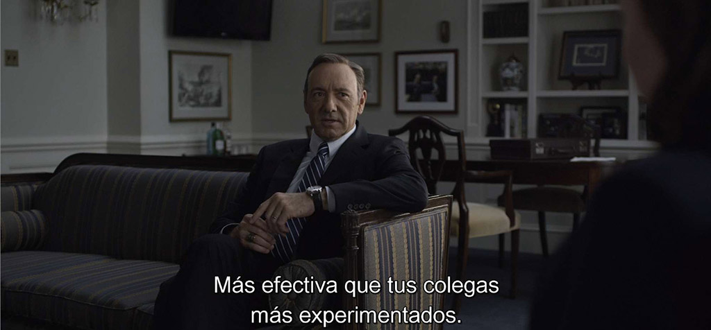Subtitulos House of Cards