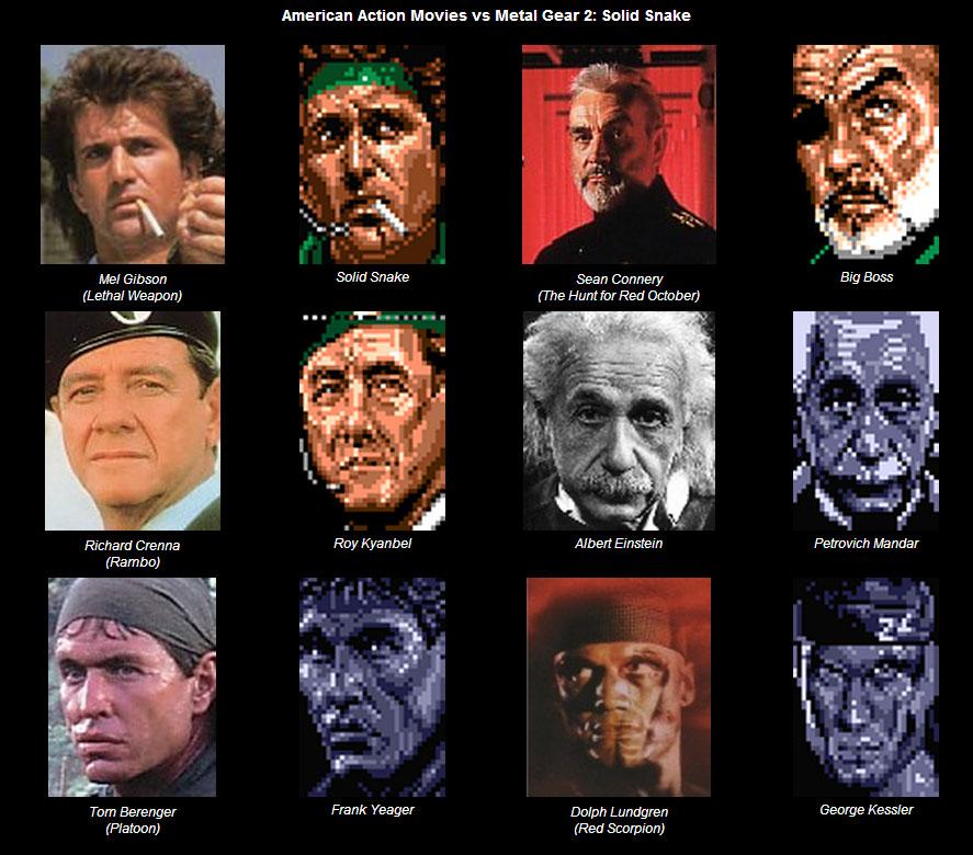 Personajes de Metal Gear 2: Solid Snake