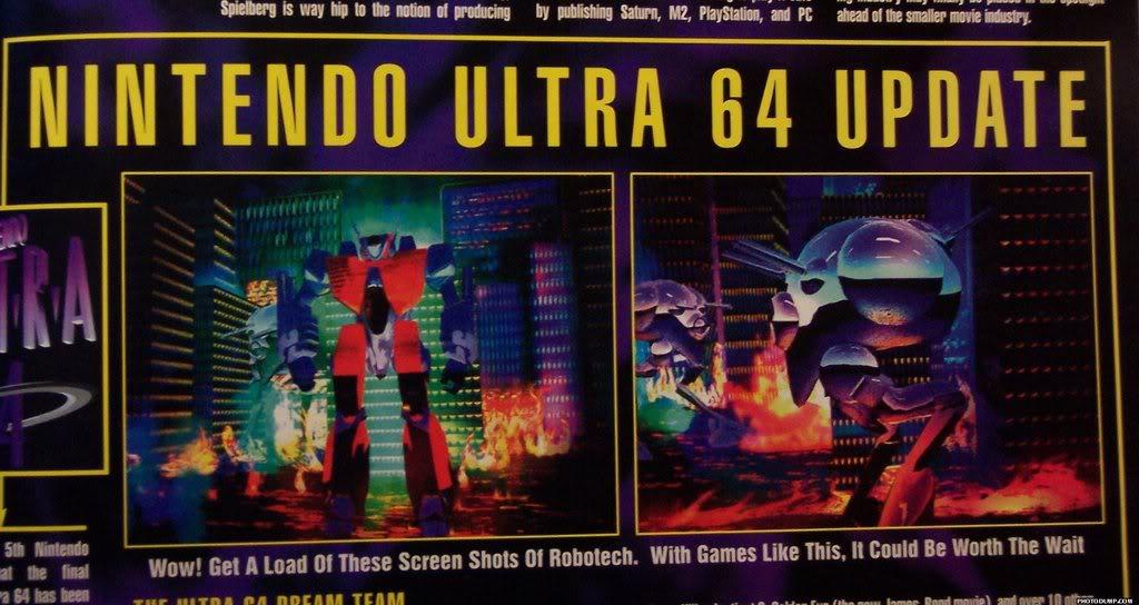 Nintendo Ultra 64 Update