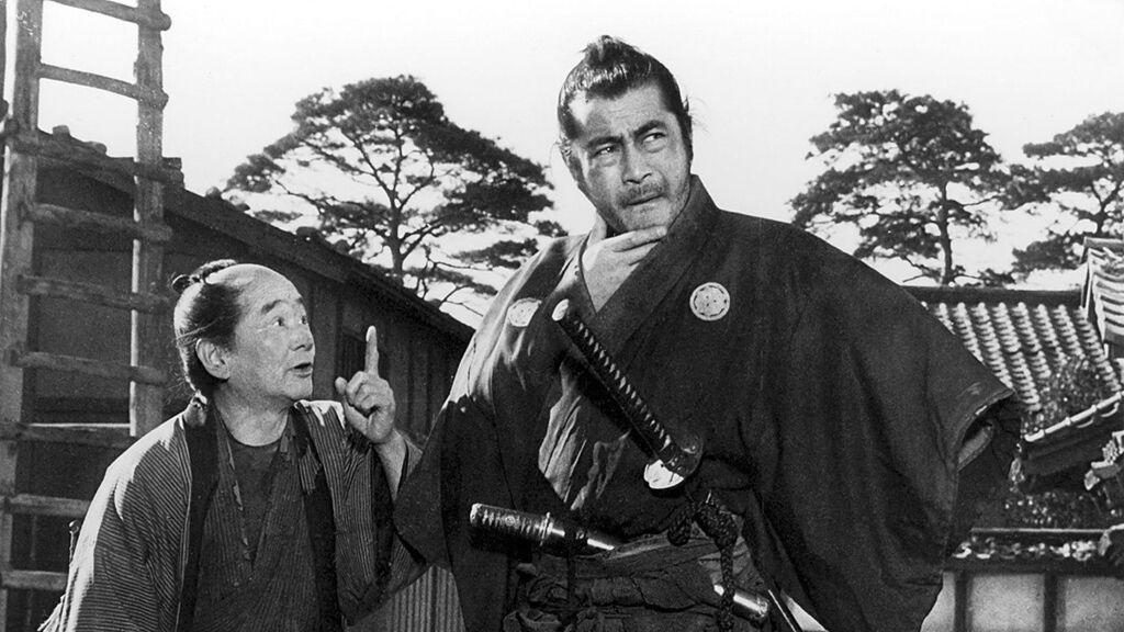 Sanjuro, de Akira Kurosawa, con Toshirô Mifune