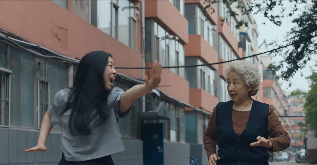 Awkwafina y Shuzhen Zhao