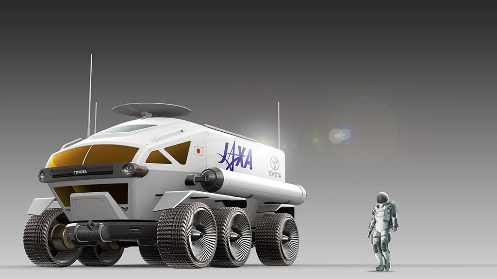 Rover lunar presurizado presentando por JAXA y Toyota