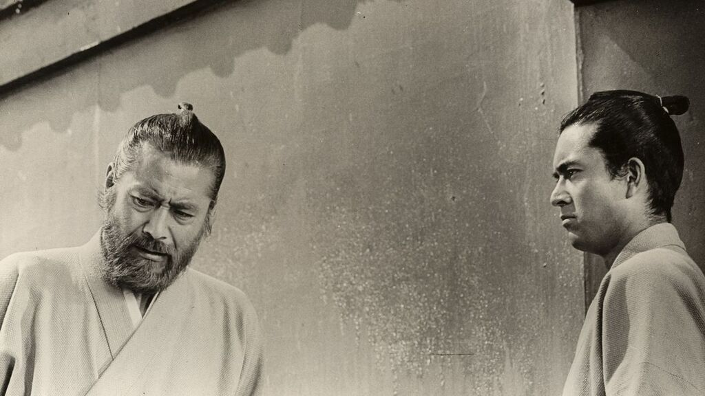 Toshirō Mifune en Barbarroja, la última gran producción de Kurosawa