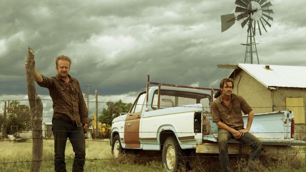 Ben Hoster y Chris Pine en 'Comanchería'