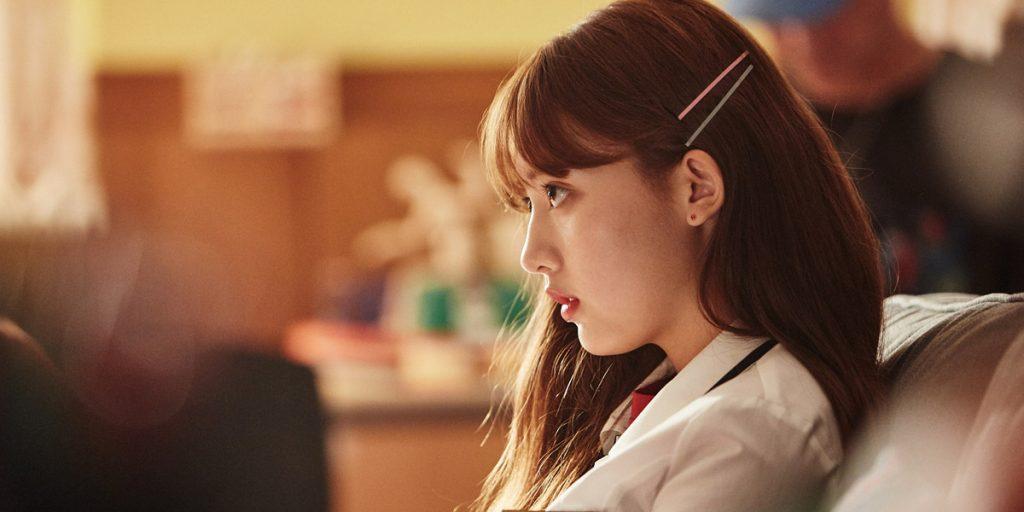 La famosa actriz de k-drama, Da-bin Jung, en el papel de Seo Minshee