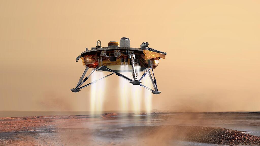 Aterrizando en Marte