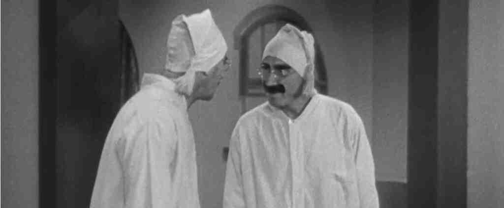 Groucho Marx en 'Sopa de ganso'