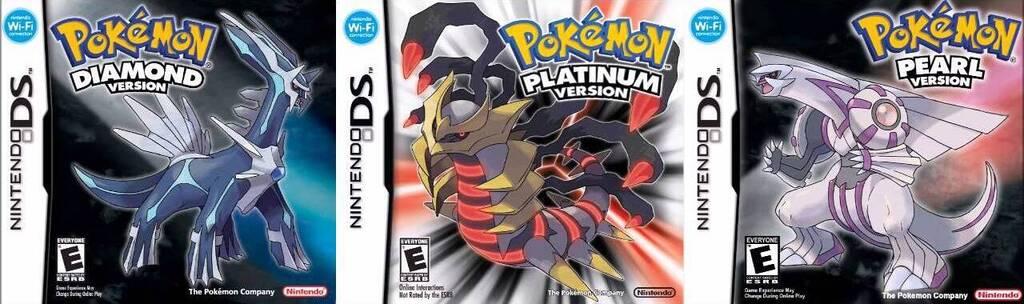 Pokémon Diamante, Perla y Platino