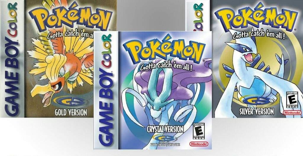 Pokémon Oro, Plata y Cristal