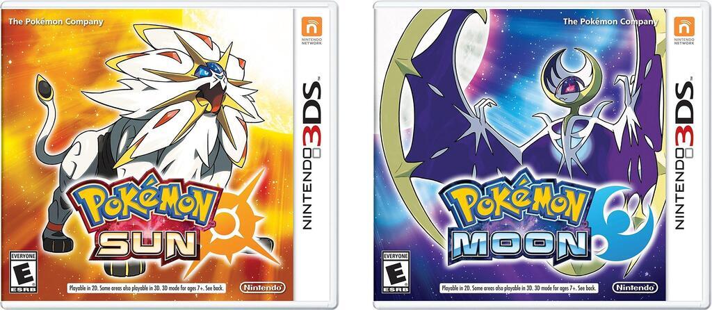Pokémon Sol, Luna