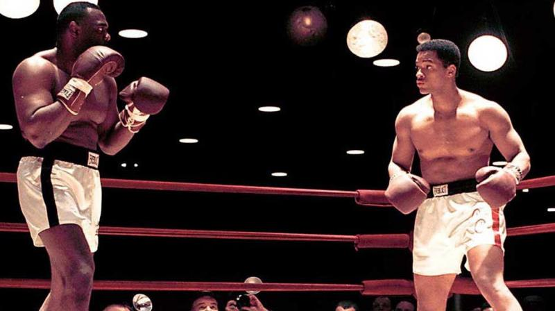 Will Smith dando vida a Muhammad Ali, en 'Ali'