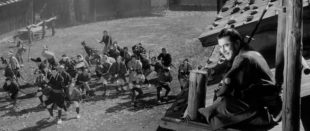 Toshirô Mifune en 'Yojimbo'