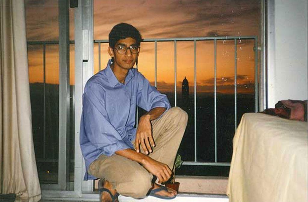 Sundar Pichai durante sus estudios en Stanford en 1994.