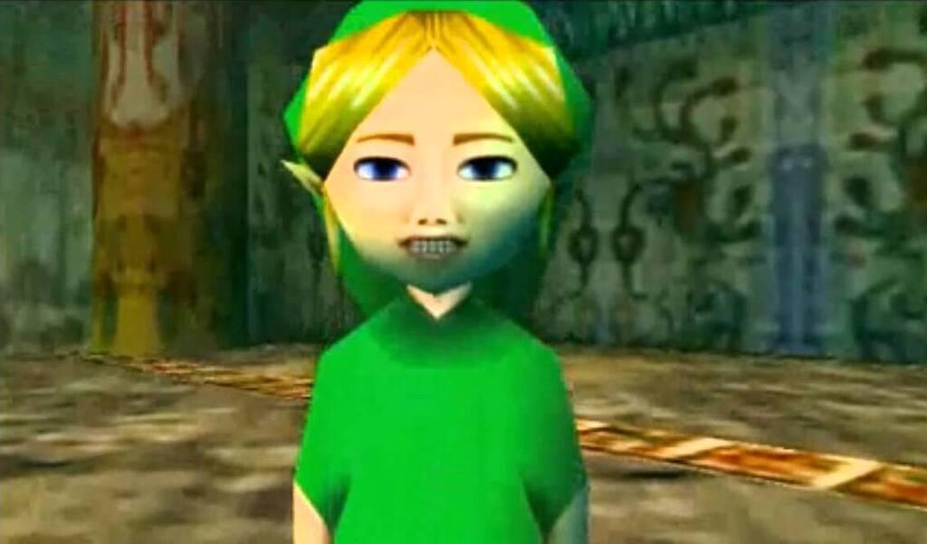 Supuesta figura que persigue a Link en la versión maldita de Majora's Mask