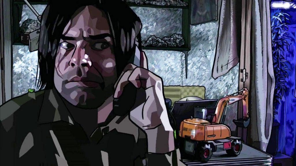 Rory Cochrane en 'A Scanner Darkly'