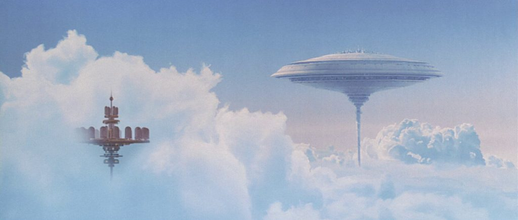 Arte conceptual de Bespin, Star Wars