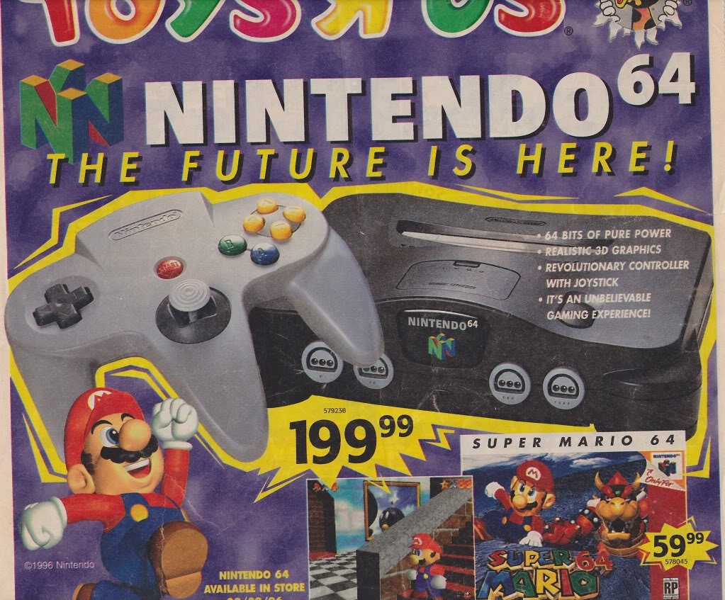 Nintendo 64 - The Future is here!