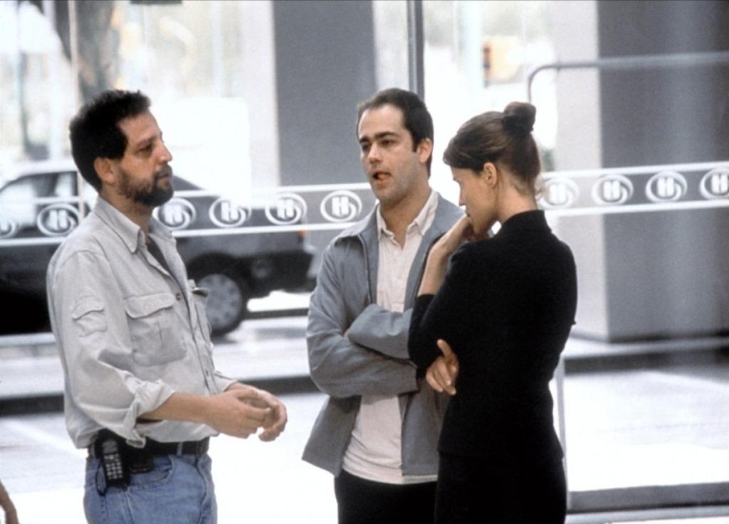 Fabián Bielinsky con Gastón Pauls y Leticia Brédice