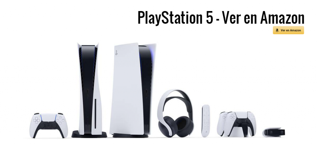 PlayStation 5 en Amazon