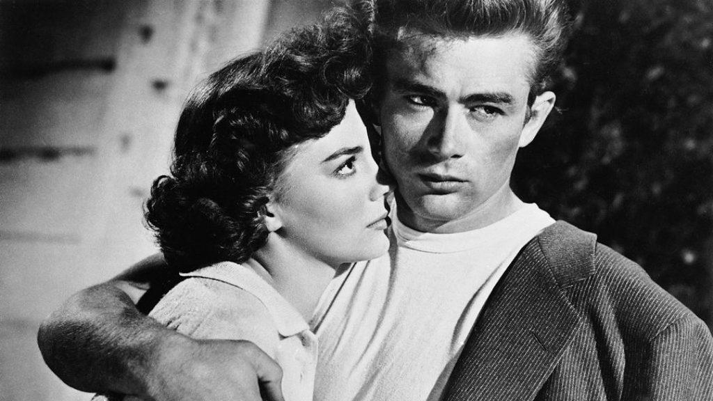 James Dean y Natalie Wood en 'Rebeldes sin causa'