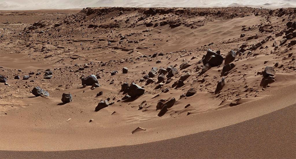 Primeras imagenes de la superficie de Marte en 4k