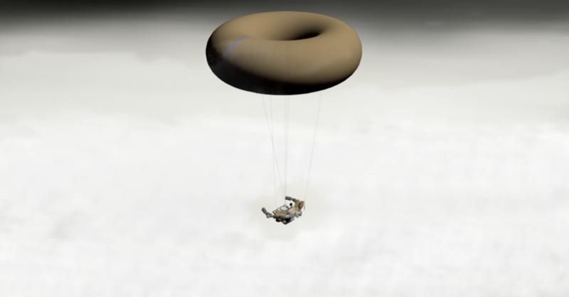 Prototipo de hábitat aerostatico de Geoffrey A. Landis