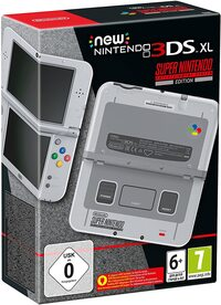 New Nintendo 3DS XL HW SNES Edition