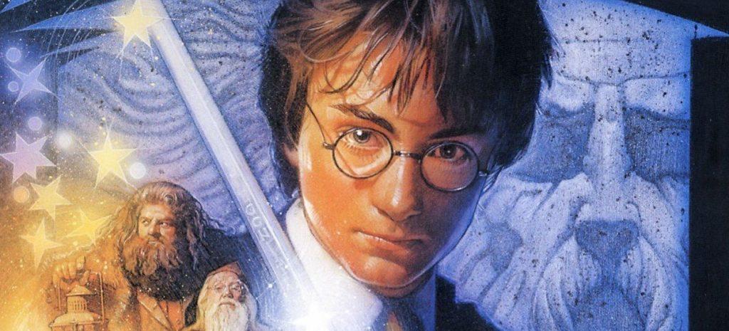 Ilustración de Harry Potter, de Drew Struzan